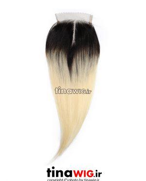 پروتز ترمیم مو زنانه آمبره بلوند و مشکی ۲-۶۱۳