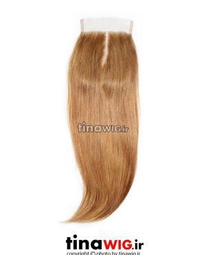 پروتز ترمیم موی زنانه رنگ عسلی ۲۶