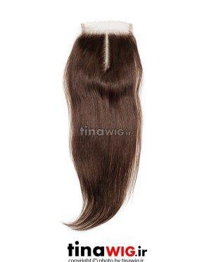 پروتز ترمیم موی زنانه رنگ قهوه ای ۶