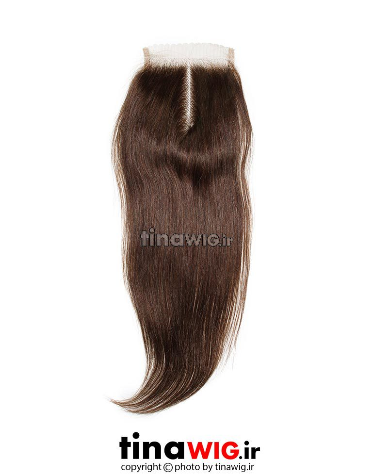 پروتز ترمیم موی زنانه رنگ قهوه ای 6