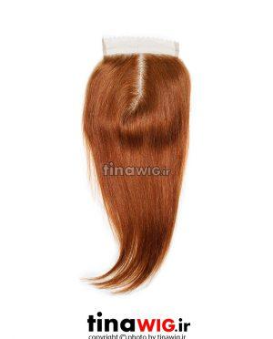 پروتز ترمیم موی زنانه رنگ مسی ۳۰