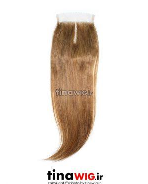 پروتز ترمیم موی زنانه رنگ نسکافه ای