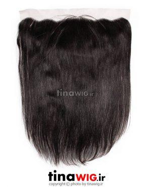 پروتز ترمیم موی گوش تا گوش مشکی ۵۰ سانتی متری