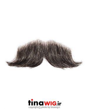 سبیل مصنوعی جوگندمی مدل هَندِلبار ۵۱ mustache handlebar